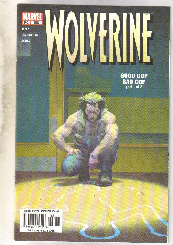 Wolverine #188 comic book mint 9.8