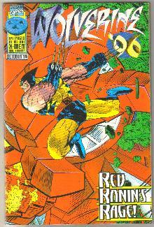 Wolverine '96 annual comic book mint 9.8