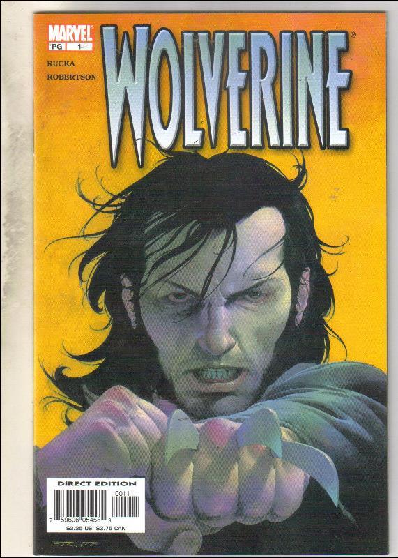 Wolverine volume 3 #1 comic book mint 9.8