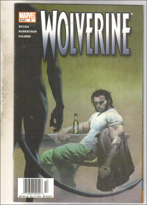 Wolverine volume 3 #6 comic book near mint 9.4