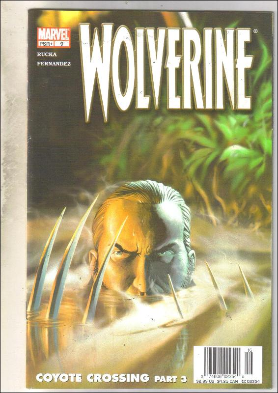 Wolverine volume 3 #9 comic book near mint 9.4