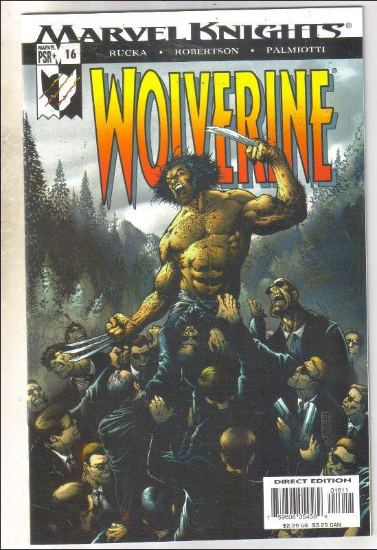 Wolverine volume 2 #16 comic book mint 9.8