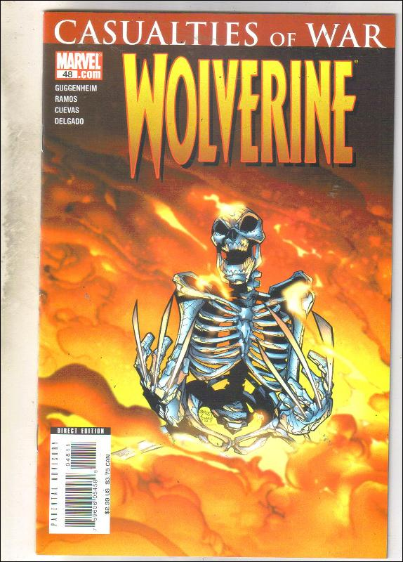 Wolverine volume 2 #48 comic book near mint 9.4
