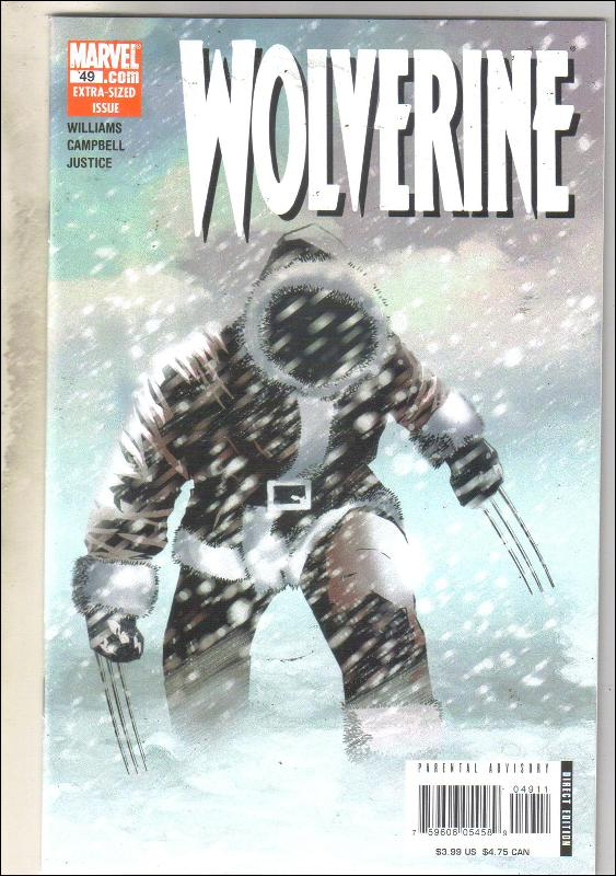 Wolverine volume 2 #49 comic book mint 9.8