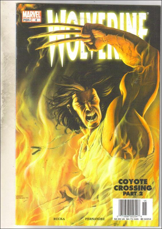 Wolverine volume 2 #8 comic book near mint 9.4