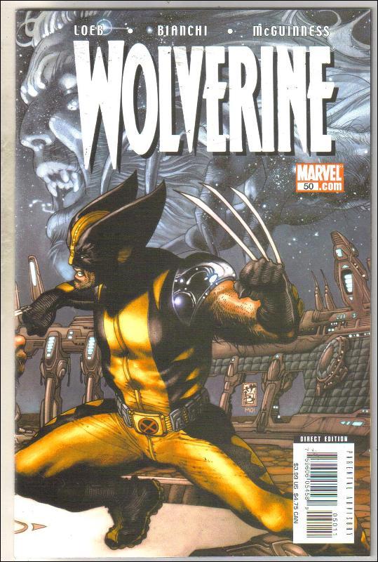 Wolverine volume 2 #50 comic book near mint 9.4