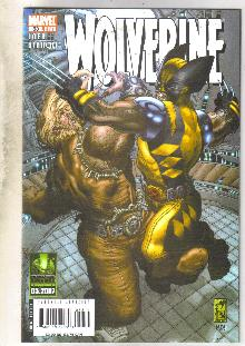 Wolverine volume 2 #53 comic book near mint 9.4