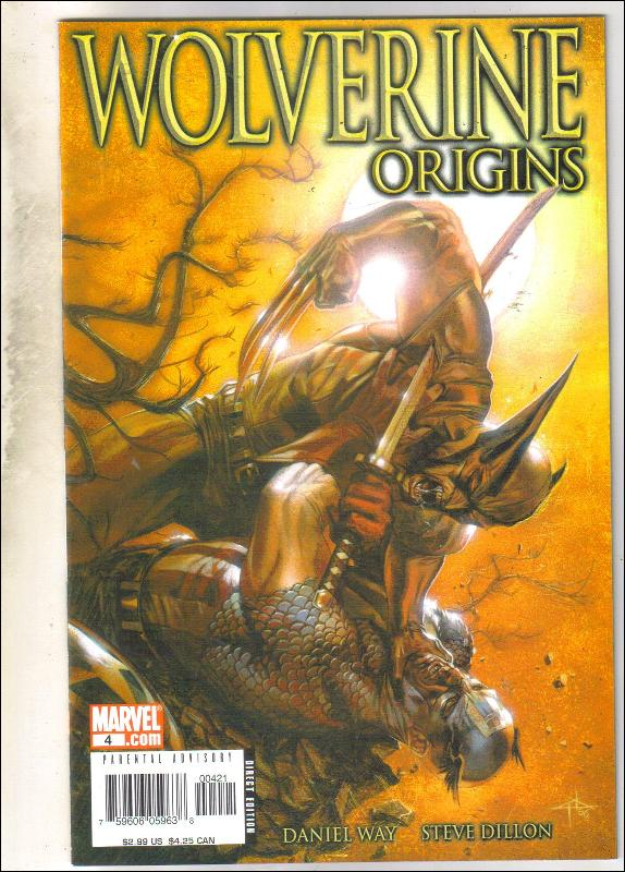 Wolverine Origins #4 comic book near mint 9.4