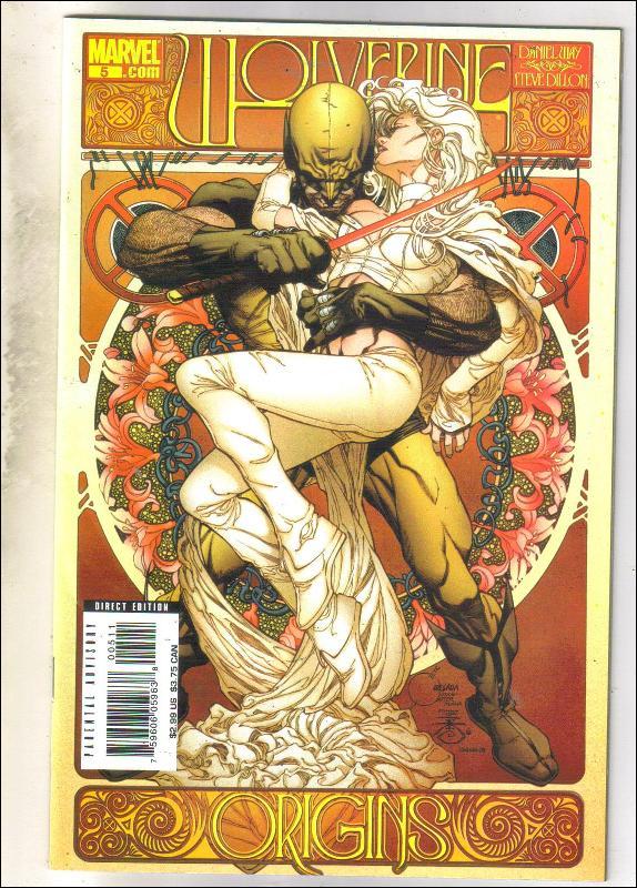 Wolverine Origins #5 comic book near mint 9.4