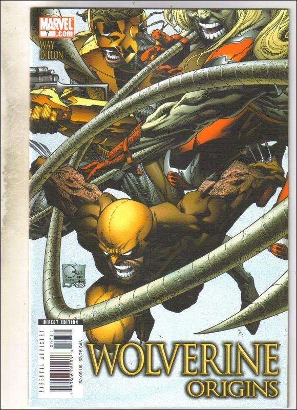 Wolverine Origins #7 comic book near mint 9.4