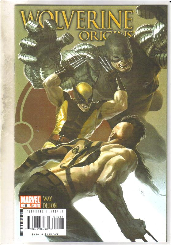 Wolverine Origins #15 comic book mint 9.8
