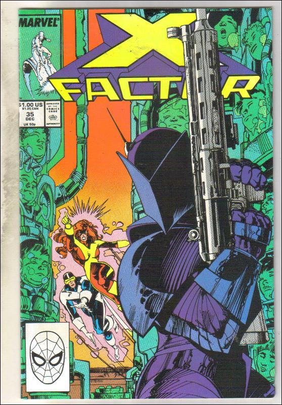 X-Factor #35 comic book near mint 9.4