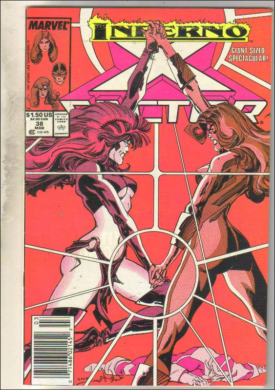 X-Factor #38 comic book very fine 8.0