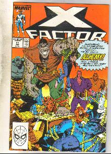 X-Factor #41 comic book near mint 9.4