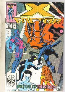 X-Factor #43 comic book near mint 9.4