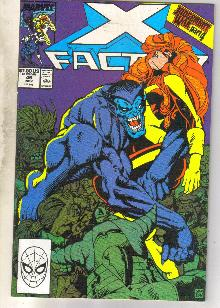 X-Factor #46 comic book near mint 9.4
