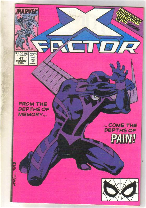 X-Factor #47 comic book near mint 9.4