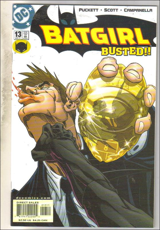 Batgirl #13 comic book mint 9.8