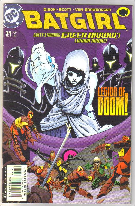 Batgirl #31 comic book near mint 9.4