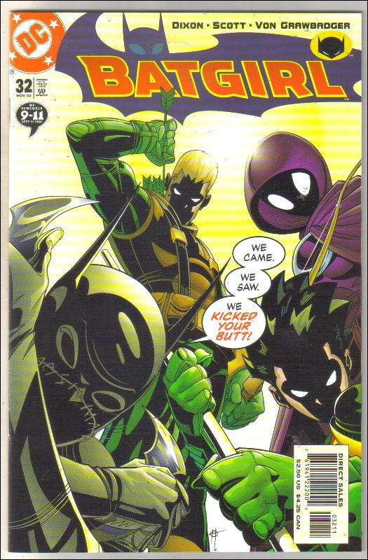 Batgirl #32 comic book near mint 9.4