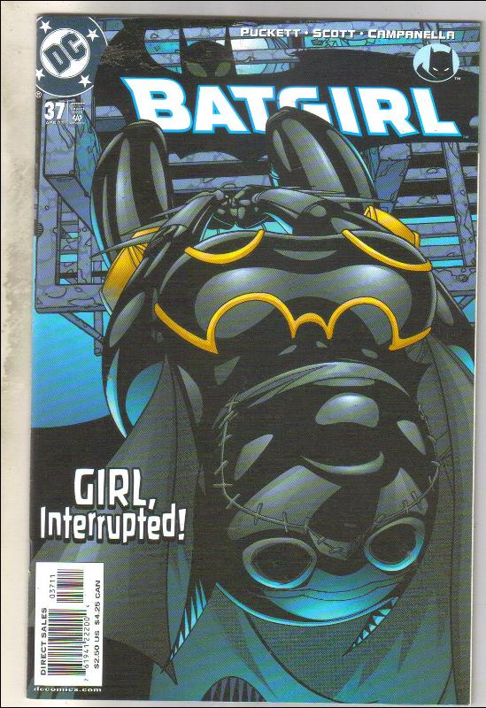 Batgirl #37 comic book mint 9.8