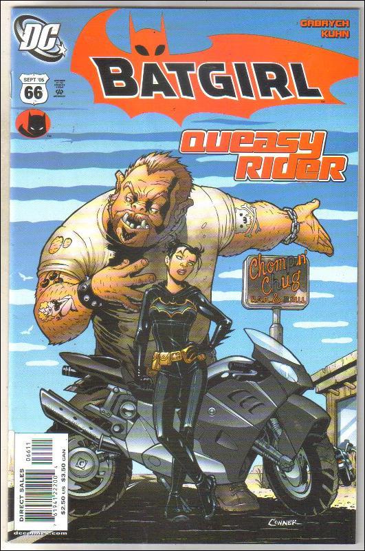 Batgirl #66 comic book near mint 9.4