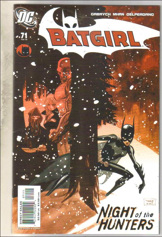 Batgirl #71 comic book near mint 9.4