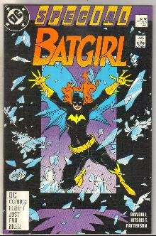 Batgirl Special #1 comic book very fine/near mint 9.0