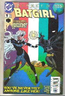 Batgirl Annual #1 comic book near mint 9.4