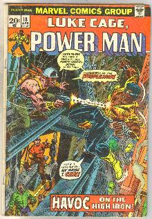 Luke Cage Power Man #18 comic book very good/fine 5.0