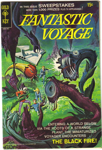 Fantastic Voyage #2 comic book fn 6.0