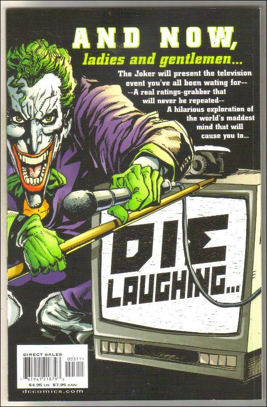 Batman: It's Joker Time  #3 comic book  mint 9.8