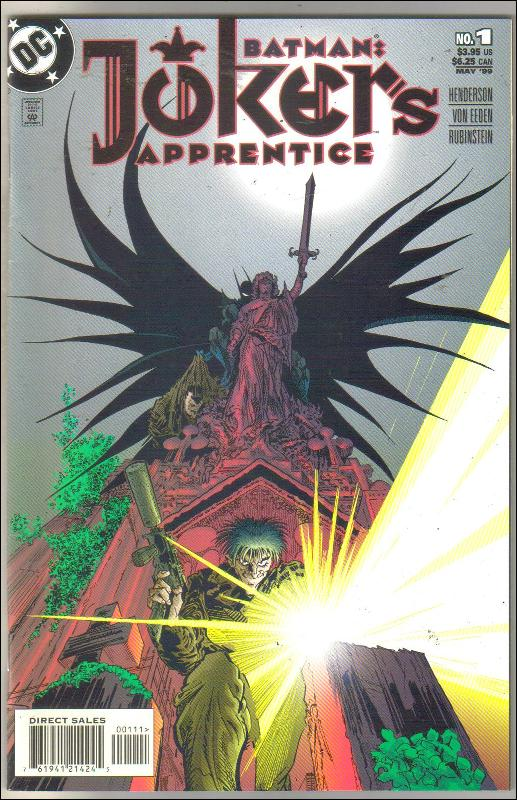 Batman's Joker's Apprentice #1 comic book  near mint 9.4