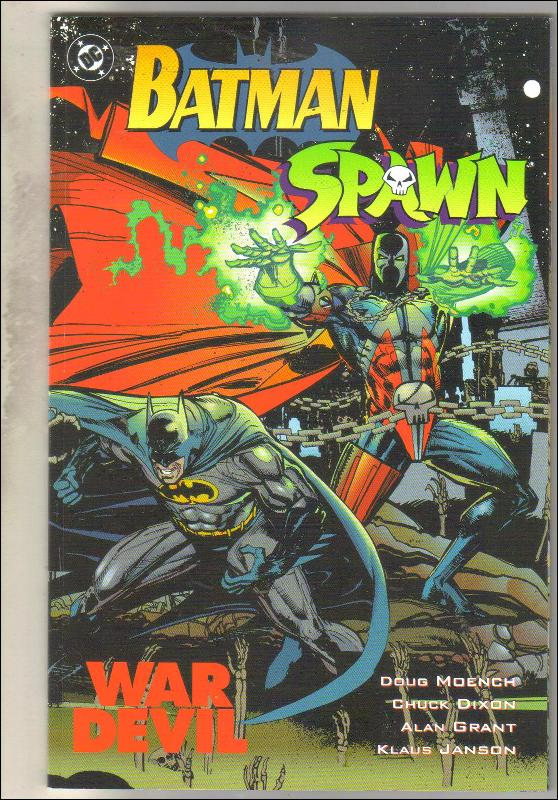 Batman Spawn War Devil comic book mint 9.8
