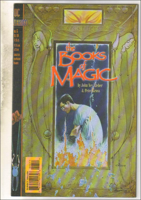 The Books of Magic #6 comic book near mint 9.4