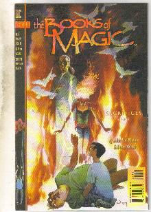 The Books of Magic #7 comic book near mint 9.4
