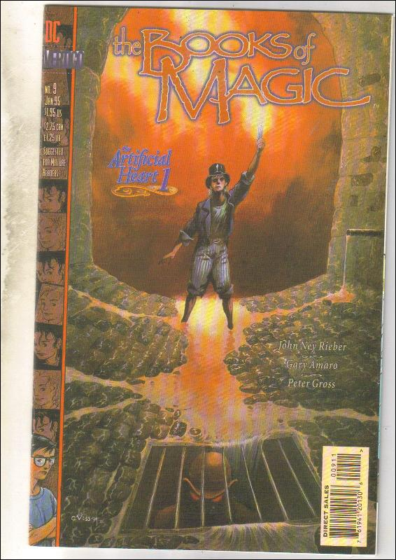 The Books of Magic #9 comic book near mint 9.4
