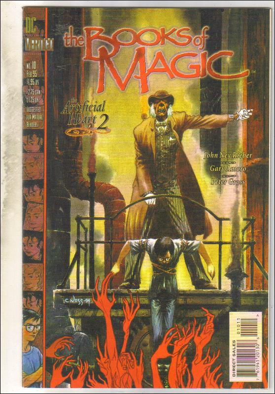 The Books of Magic #10 comic book  mint 9.8