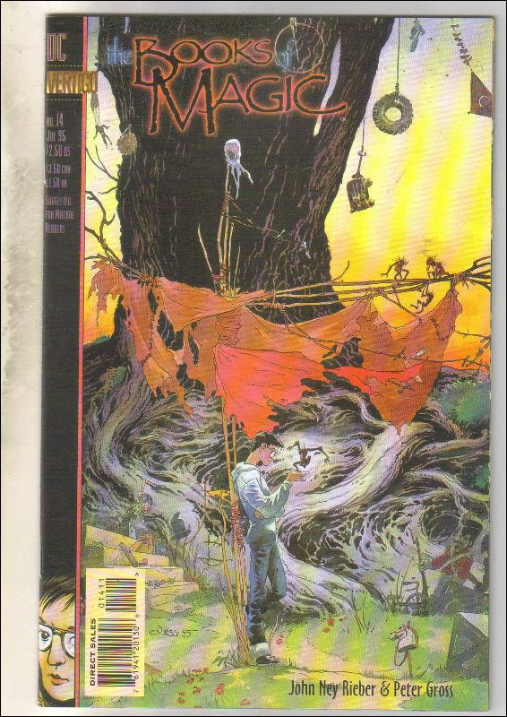 The Books of Magic #14 comic book  mint 9.8