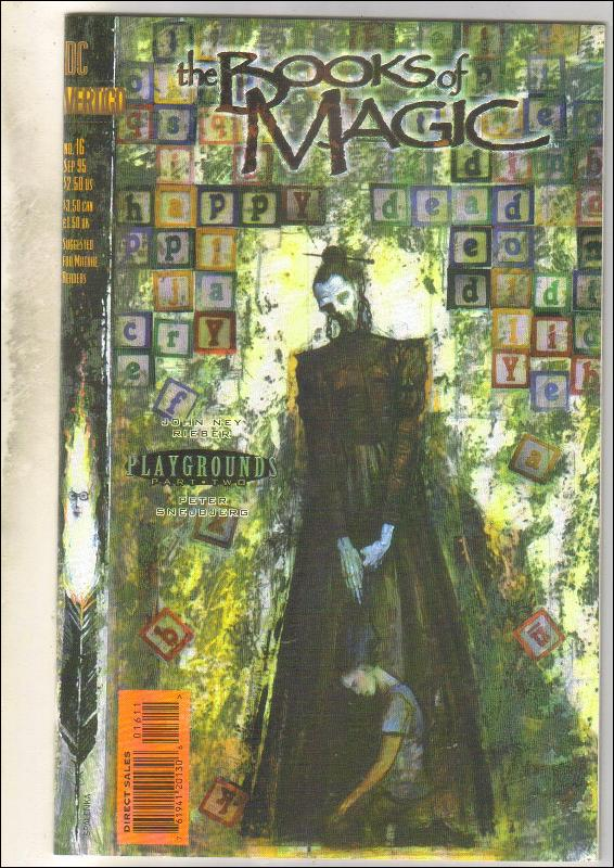 The Books of Magic #16 comic book  mint 9.8