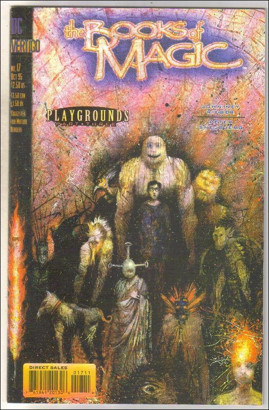 The Books of Magic #17 comic book near mint 9.4