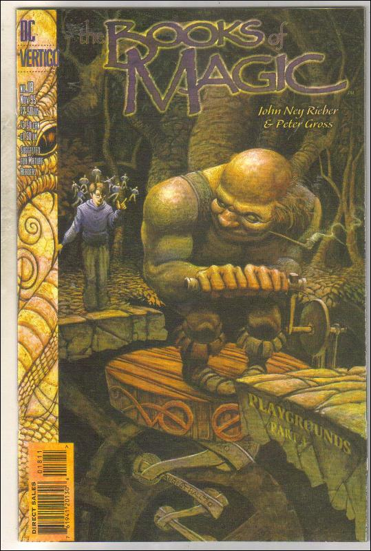 The Books of Magic #18 comic book mint 9.8