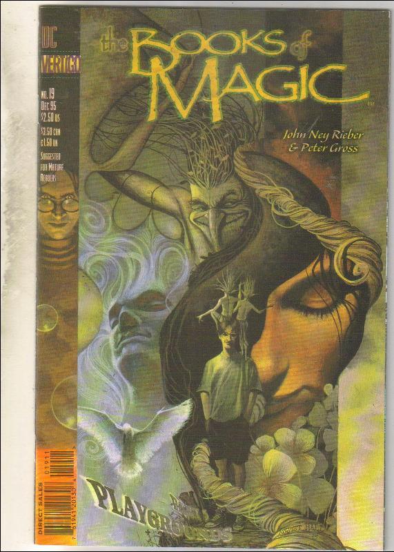 The Books of Magic #19 comic book mint 9.8