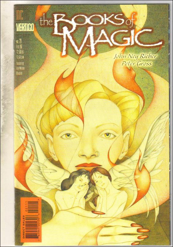 The Books of Magic #21 comic book near mint 9.4