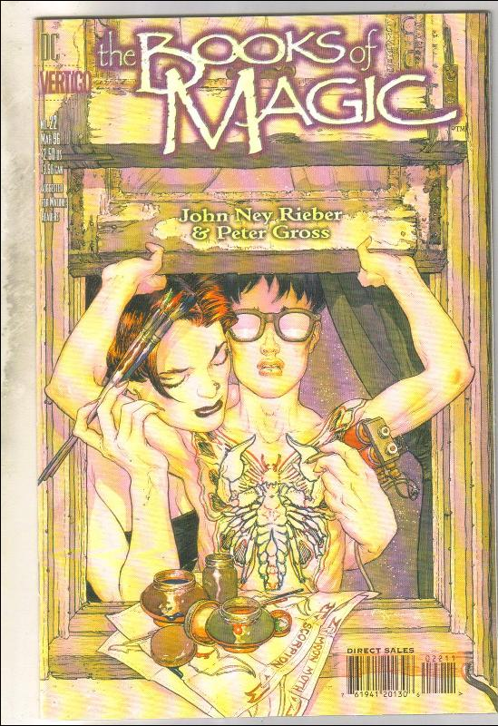 The Books of Magic #22 comic book near mint 9.4