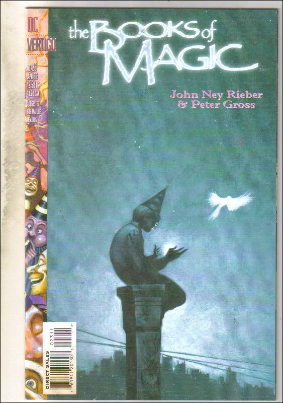The Books of Magic #23 comic book near mint 9.4