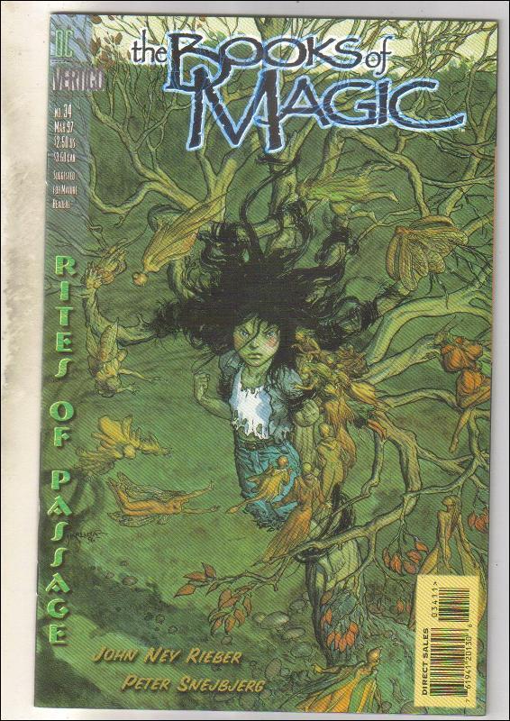 The Books of Magic #34 comic book  mint 9.8