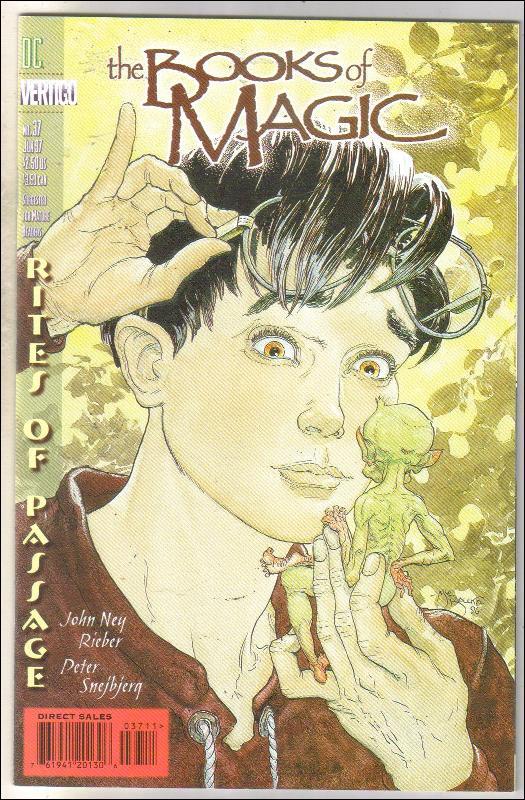 The Books of Magic #37 comic book near mint 9.4