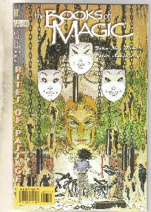 The Books of Magic #38 comic book near mint 9.4