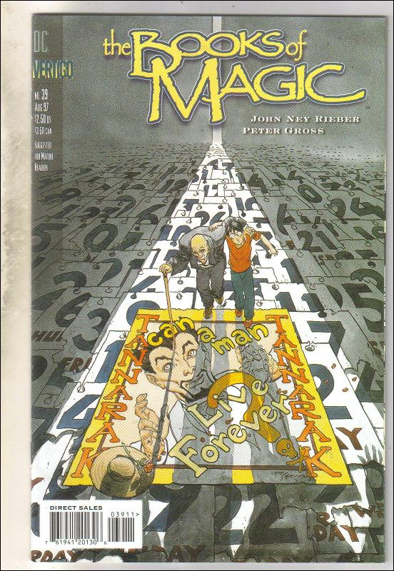 The Books of Magic #39 comic book near mint 9.4